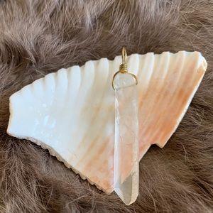 Beautiful Lemurian Crystal Pendant